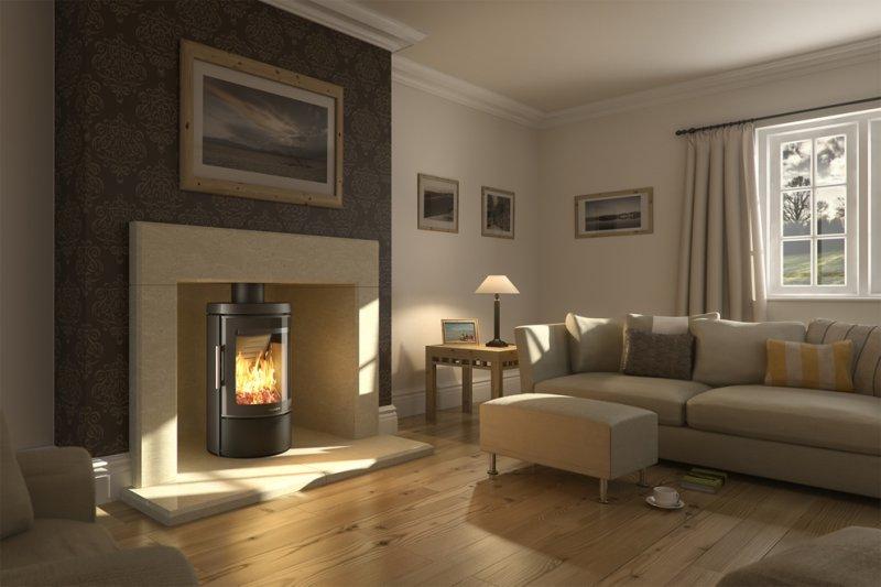 Modern Wood Burner Fireplace Designs